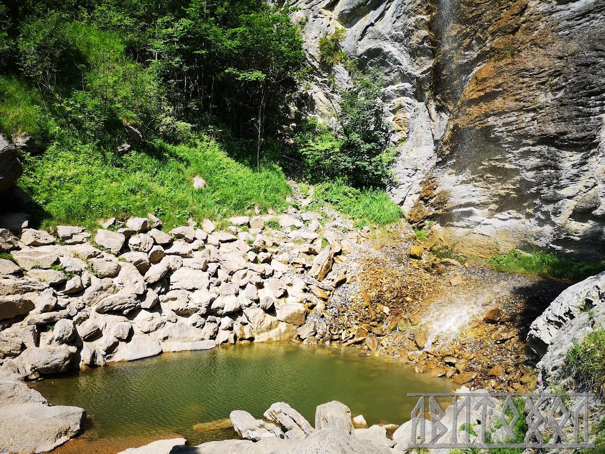 """Водопадът Unterer Wasserfall - """"легена"""""""
