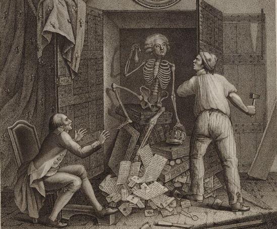 скелет в гардероба