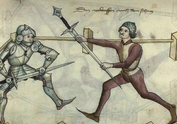 захватът на меч Мордау