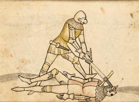 Победа със захват на меч Мордау