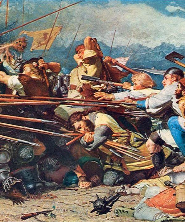 битката при езерото Земпах