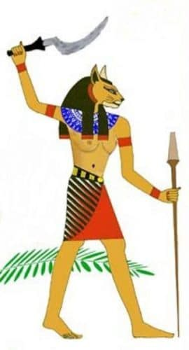 Богинята Мафдет