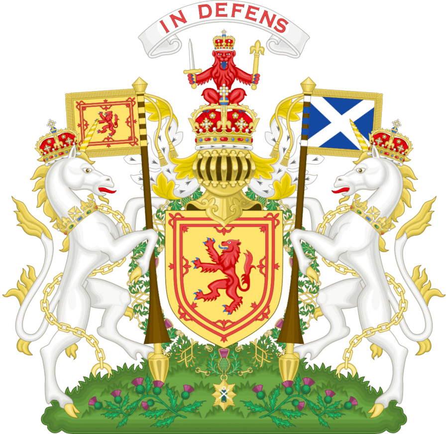 еднорогът шотландия
