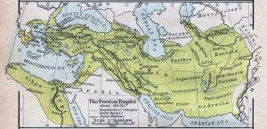 Карта на сатрапиите в Ахеменидската империя