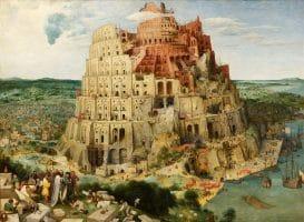 Голямата Вавилонска кула на Питер Брюгел