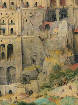 Голямата Вавилонска кула на Питер Брюгел конструкция
