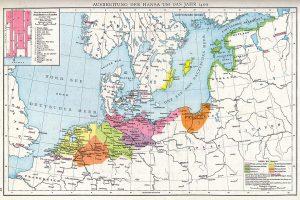Ханзейската лига карта