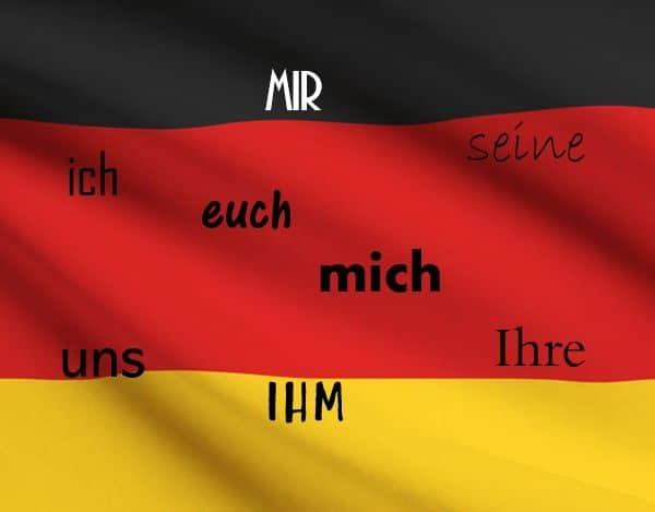 Немски местоимения